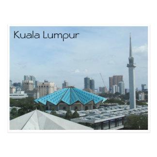 national mosque kl postcard