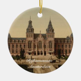 National Museum, Amsterdam, Netherlands Ceramic Ornament