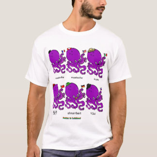 National Mustached Octopi T-Shirt