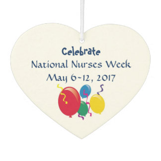 National Nurses Week 2017 Car Air Freshener