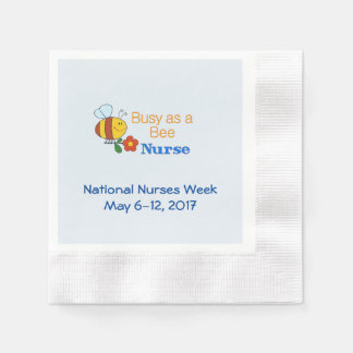 National Nurses Week 2017 Disposable Napkin