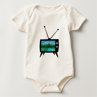 National Park Media Baby Bodysuit