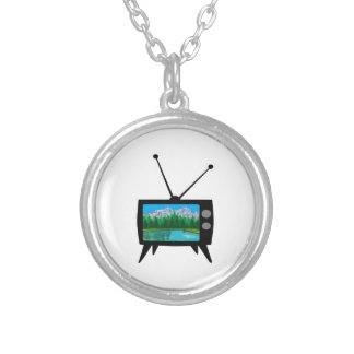 National Park Media Silver Plated Necklace