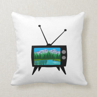 National Park Media Throw Pillow