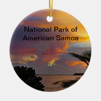 National Park of American Samoa Ornament