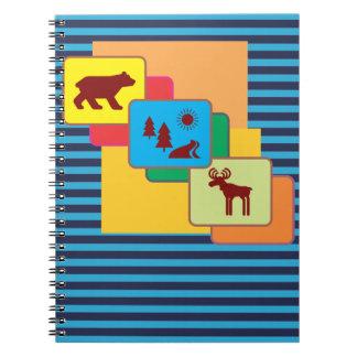 National Parks Spiral Notebook