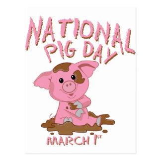 National pig day postcards