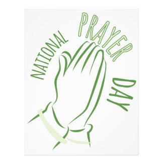 National Prayer Day Letterhead