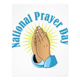National Prayer Day Customized Letterhead