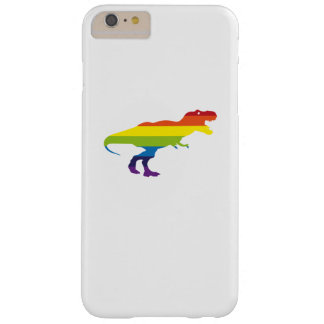National Pride March Gay LGBT Dinosaur T Rex Barely There iPhone 6 Plus Case