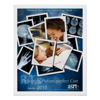 National Radiologic Technology Week 2010 poster