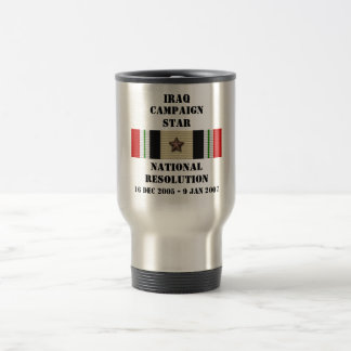 National Resolution  / CAMPAIGN STAR 15 Oz Stainless Steel Travel Mug