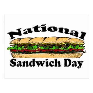 National Sandwich Day Postcard