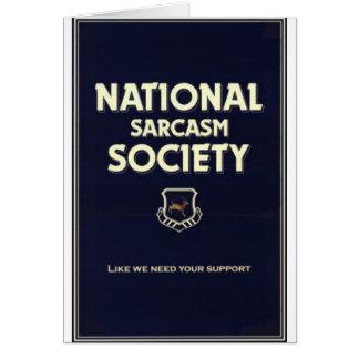 National-Sarcasm-Society Card