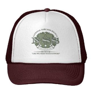 National Sarcasm Society Hats