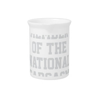 National Sarcasm Society Pitcher