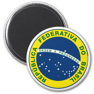 National Seal of Brazil Magnets