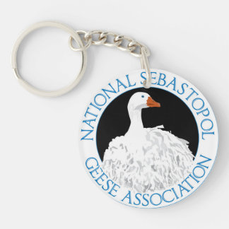 National Sebastopol Geese Association Key Chain