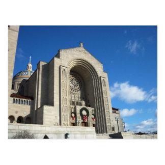 National Shrine At Christmas, 1 Postcard