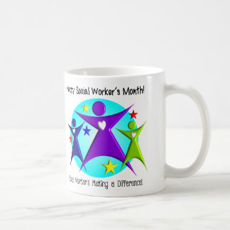 National Social Worker's Month Appreciation Coffee Mug