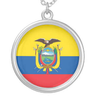 National Standard Of Ecuador, Ecuador Silver Plated Necklace