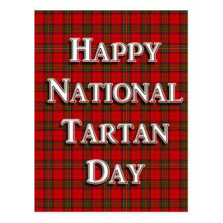 National Tartan Day Postcard