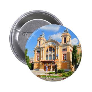 National Theatre and Opera in Cluj Napoca, Romani 2 Inch Round Button
