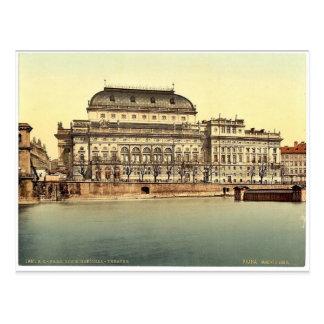 National Theatre, Prague, Bohemia, Austro-Hungary Postcard