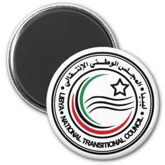 National Transitional Council of Libya Seal 2 Inch Round Magnet