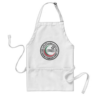 National Transitional Council of Libya Seal Adult Apron