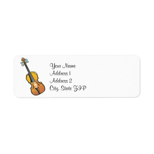 National Violin Day Address Labels