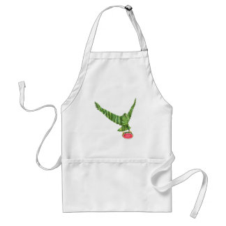 National Watermelon Day Eagle Standard Apron
