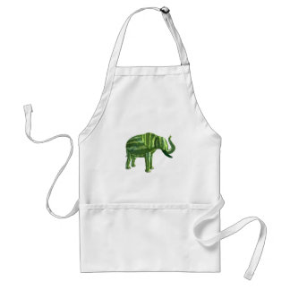 National Watermelon Day Elephant Adult Apron