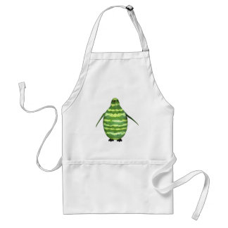 National Watermelon Day Penguin Standard Apron