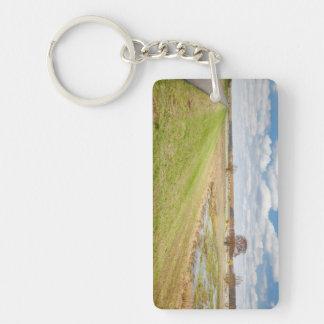 Nationalpark Unteres Odertal Single-Sided Rectangular Acrylic Keychain