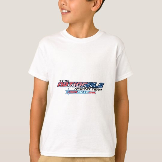 nationals logo kids tshirt