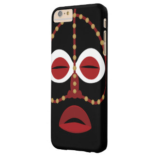 Native African Indian Face Mask Barely There iPhone 6 Plus Case