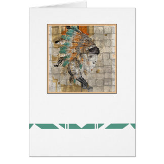 Native Americal All Occasion Card