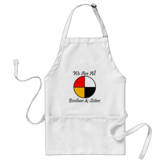 Native American 4 Directions gear Standard Apron