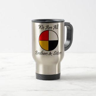 Native American 4 Directions gear Travel Mug