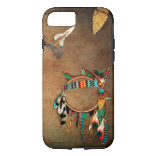 Native American arrowhead Indian iPhone 7 Case