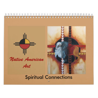 .Native American Art.. Wall Calendars