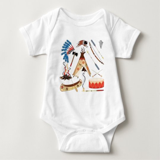 Native American Baby Bodysuit