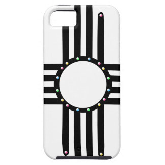Native American beaded Zia Case For The iPhone 5