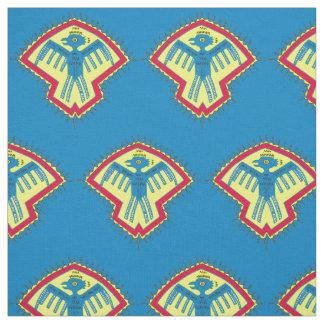 Native American bird print Fabric