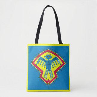 Native American bird Tote Bag