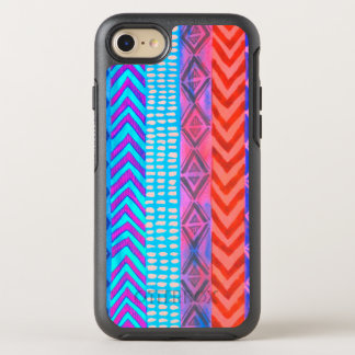 Native American Bright Tribal Hipster Pattern OtterBox Symmetry iPhone 8/7 Case