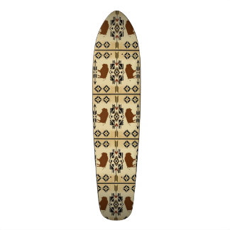 Native American Buffalo Blanket Scateboard Skate Decks