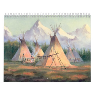 NATIVE AMERICAN CALENDAR by SHARON SHARPE
