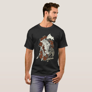 NATIVE AMERICAN CHIEF HEADDRESS T-Shirt